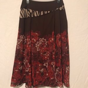 Coldwater Creek skirt size small 6-8